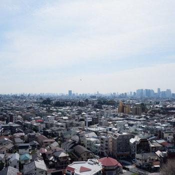 最上階からの眺めです。高台にあるのでより見渡せますね。