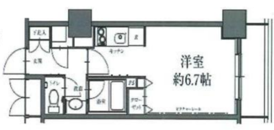 駒沢タワマンライフ の間取り