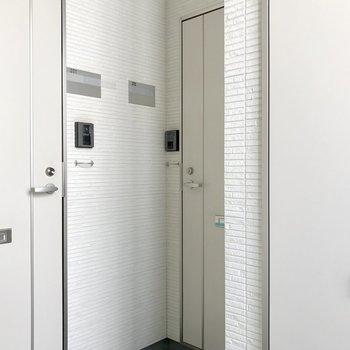 1フロアに3部屋。