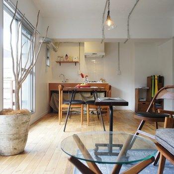家から出たくなくなりますね。。※写真は1階の同間取り別部屋のものです ※家具はサンプルとなります