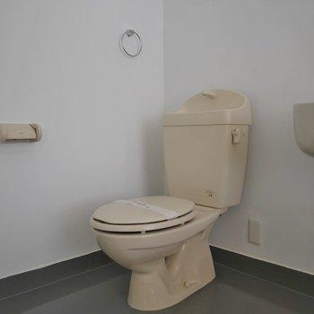 トイレは少し古めかな?※写真は同タイプの別室