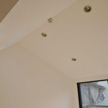 天井は高くて解放的◎※写真は同タイプの別室