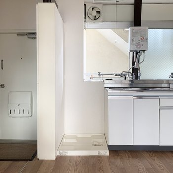 【DK】隣に洗濯機置き場です。※写真は前回募集時のものです