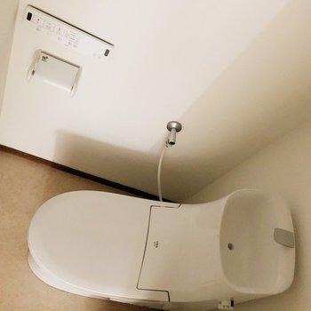 トイレが進化しています。ウォシュレット付き◎
