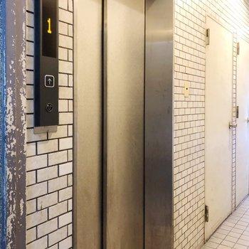エレベーターがあるので大きな買い物をしても安心ですね◎