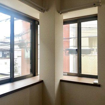 【出窓がある洋室】観葉植物を並べたい!