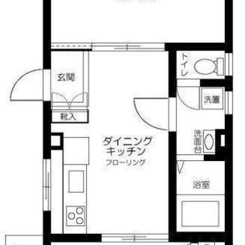 キッチンがお部屋の中心!