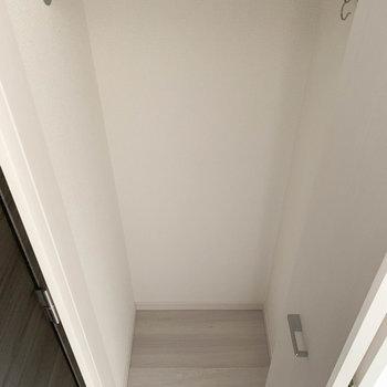 収納はややコンパクト※写真は1階の同間取り別部屋のものです