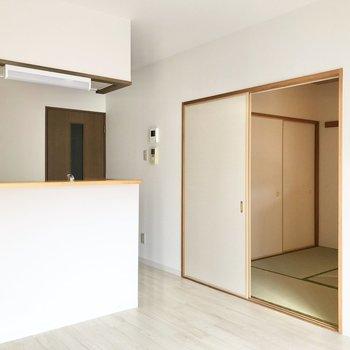 【LD】お隣は和室です