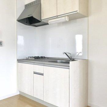 お気に入りのキッチン※写真は3階の反転間取り別部屋のものです