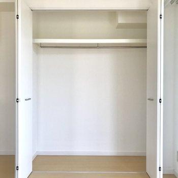 収納は1人暮らしに十分なサイズ※写真は3階の反転間取り別部屋のものです