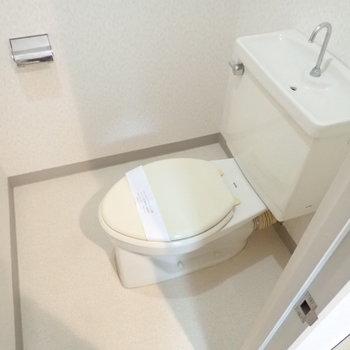 トイレは清潔感good。