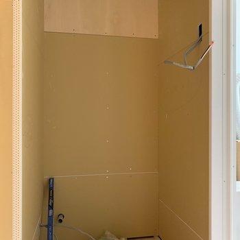 【工事中】ここにはトイレを新設