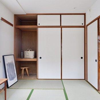【和室】ごろごろしたくなっちゃいます。※家具・雑貨はサンプルです