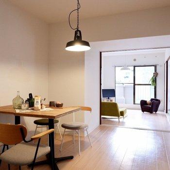 【DK】視線も抜けてのびのび。※家具・雑貨はサンプルです