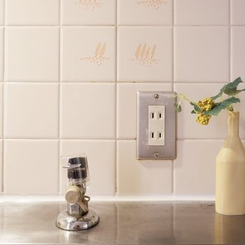 【DK】IHポットも調理台で使えますよ。※家具・雑貨はサンプルです