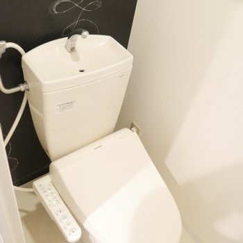 トイレはウォシュレットつきです