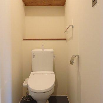 トイレももちろんキレイ※別部屋の写真です。