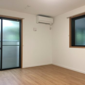 居室はゆったりたっぷりのんびり、2面採光