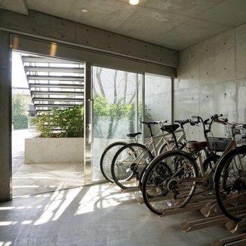 室内自転車置き場も!※要空確認 ※写真は前回募集時のものです
