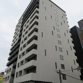 しっかりとした造りのマンションですね