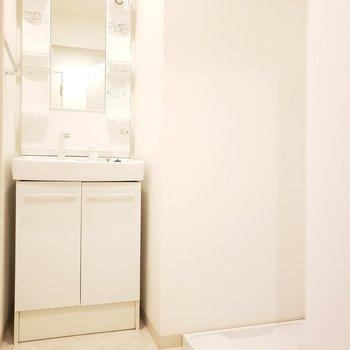 水回りがまとまっていると使いやすいよね!※写真は4階の反転間取り別部屋のものです