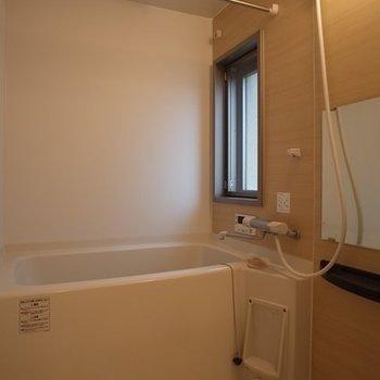 めずらしいっ!!お風呂にもうれしい出窓。 ※写真は6階の同間取り別部屋のものです