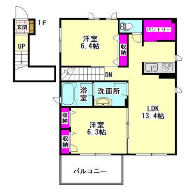仮)大田区羽田6丁目シャーメゾン の間取り