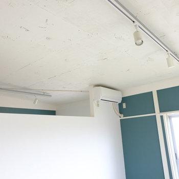 リビングと主寝室の天井は通通です!