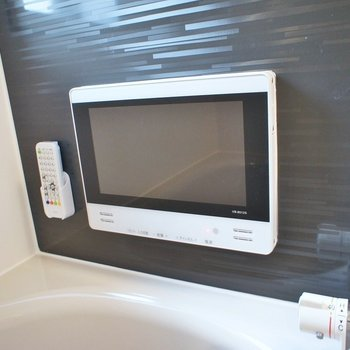浴室テレビも付いてる!!