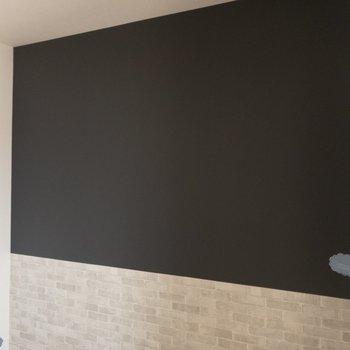 【LDK】黒板クロスがあります。お洒落なカフェ風スタイルにしても良いかも