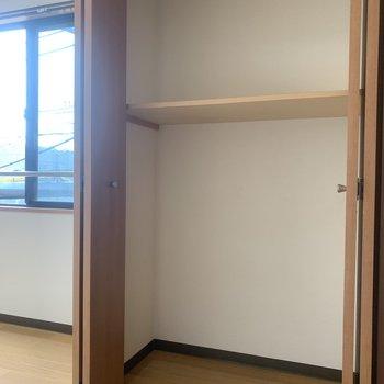 収納スペースは2段に分かれています