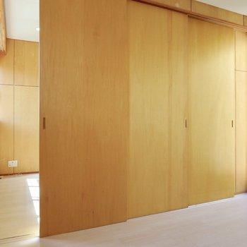 【DK横洋室】もちろん扉を閉めればしっかりと空間を分けることができます