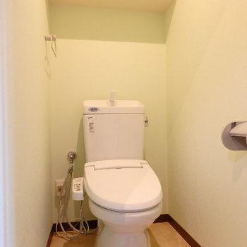 トイレもキレイでした※同間取り別部屋の写真です。