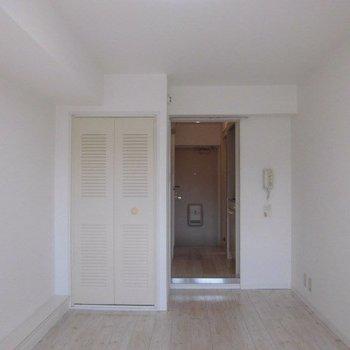 この感じいいですよね※写真は4階の反転間取り別部屋のものです