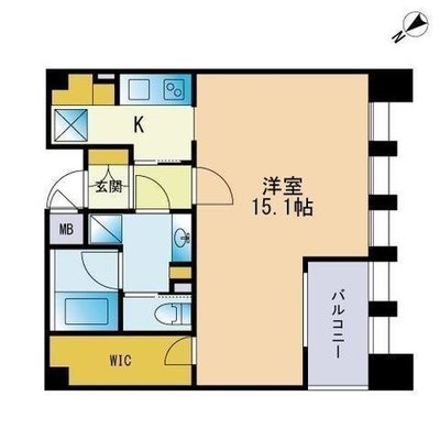 THE APARTMENT HAKATAⅡの間取り
