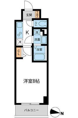 S-FORT湘南平塚(旧S-FLATS湘 の間取り