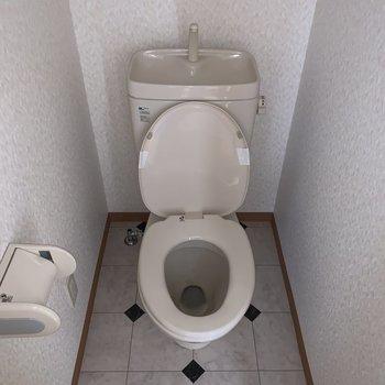 トイレは個室です。 ※写真は前回募集時のものです