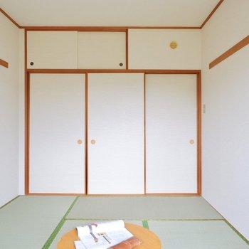 これぞ和室、な心地良い色合い。※家具はサンプルです