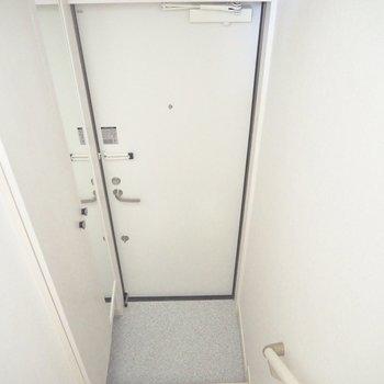 居室は3階、玄関は1階。