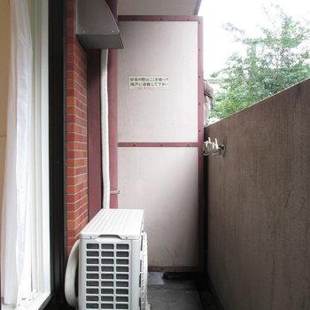 ベランダで洗濯物は十分※写真は前回募集時のものです