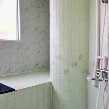 シャワースペースもしっかり有りますよ。