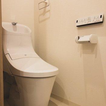 清潔でお手入れしやすいトイレ