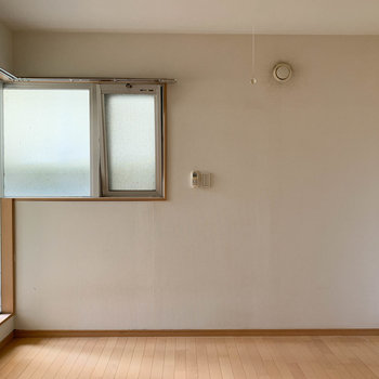 1階、角部屋のお部屋