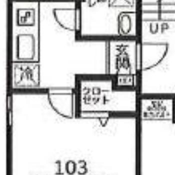キッチンと寝室をしっかり分けられますね