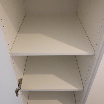 高さがある靴はこちらに。※写真は4階の同間取り別部屋のものです