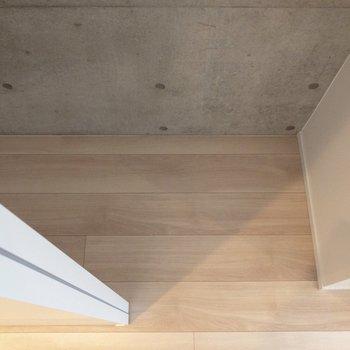 一人暮らしには充分な広さ。※写真は4階の同間取り別部屋のものです