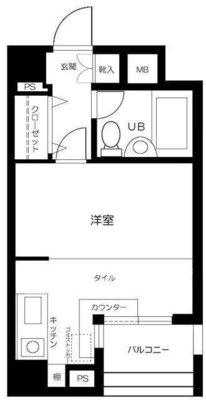 メゾン・ド・ヴィレ東神田 の間取り