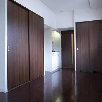 収納もバッチリ※写真は3階の同間取り別部屋のものです