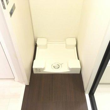 洗濯機置場!※写真は3階の同間取り別部屋のものです